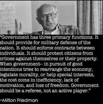 position à critiquer - Friedman - nightwatchmangovernment